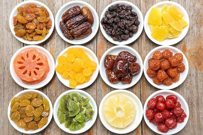 фрукты в сухом виде