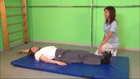 выполнение лечебных упражнений