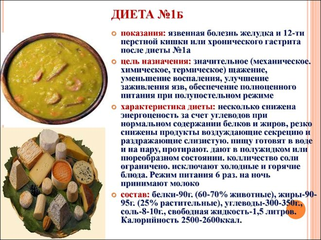 диета № 1 Б