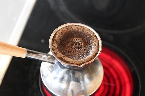 готовка кофе