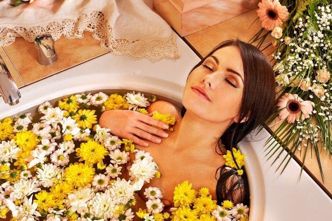 ромашки и календулы – ванночки